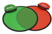 folding pocket frisbee flyer with pouch