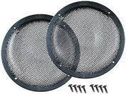 Qpower 25cm Woofer Grills Sold in pairs - GRILL10DELUXEKIT