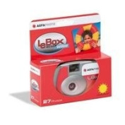 Agfa LeBox Outdoor 35mm Disposable Camera, 27 Exposure, ISO 400 Colour Film