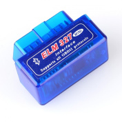 Super Mini ELM327 V1.5 OBD2 OBD-II Bluetooth CAN-BUS Auto Diagnostic Tool for Windows XP, Vista, Win7, OSX and Android