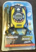 Panasonic Shockwave radio cassette player RQ-SW70