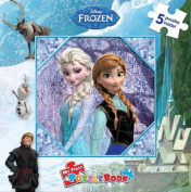 Disney Frozen 5 Puzzle Book