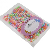 6mm Colourful Acrylic Beads, AB Colour, Round, Mixed Colour, for Jewellery Bracelet Necklace Making DIY, about pack of 470pcs