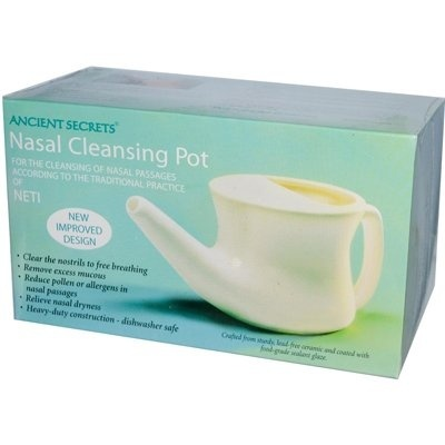 Bath & Body Ancient Secrets Nasal Cleansing Pot Salt 8 Ounce Carefully Selected Materials