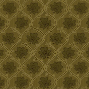 Studio E Elementary Collection, Olive Green Medallion Floral