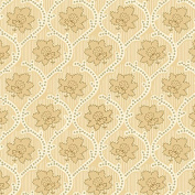 Studio E Elementary Collection, Ivory & Beige Medallion Floral