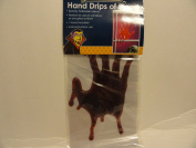 Hand Drips of Blood Gel Clings