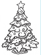 Darice 1218-45 Embossing Folder, 11cm by 15cm , Christmas Tree Design