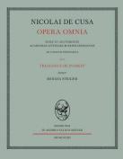 Nicolai de Cusa Opera Omnia. Volumen XI/2. [GER]