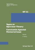 Topics in Operator Theory
