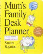 Mum's Family Desk Planner