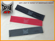 Tapout XT Resistance Bands [PACK OF 3] - TapouT XT - Yoga - Pilates - P90X - Insanity - Focus T25 - ABS workouts and MORE