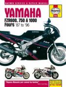 Yamaha FZR 600, 750, 1000 Service and Repair Manual