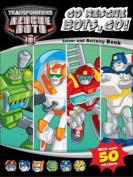 Transformers Rescue Bots Go Rescue Bots, Go! Colouring & Activity