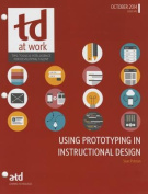 Using Prototying in Instructional Design (TD at Work