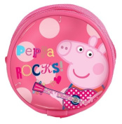 Official Peppa Pig Rocks Wallet Coin Purse Bag Back To School