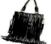 Fashion Women Punk Tassel Fringed Handbag Tote Shoulder Purse Bag
