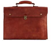 LE PLIABLE briefcase soft leather suitcase folding PAUL MARIUS