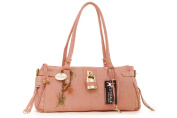 Catwalk Collection Leather Padlock Handbag - Chancery
