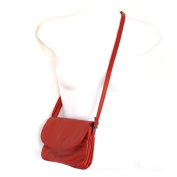 Small Speedy Soft Genuine Leather Flap Shoulder Silver Fever® Handbag