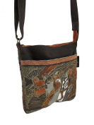 Laurel Burch Horse design Crossbody Bag Handbag - Moroccan Mares