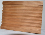 Large Groovy Wooden Soap Dish Bathroom Accessories