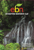 bentonite clay (1kg) - EBN Detoxifying Clay