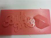 Bride to be soap slice fragranced