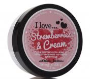 I Love... Strawberries & Cream Nourishing Body Butter 200ml
