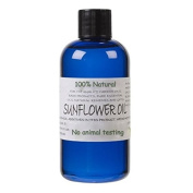 Natural Cosmetic Grade Sunflower Oil, suitable for massage blends and creams