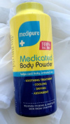 Medipure Unisex Medicated Body Powder For Itchy, Irritated Skin-200g new