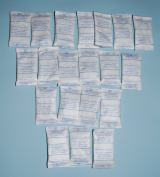 Silica Gel Pouches - Pack of 20 - 5g Silica Gel Sachets Self Indicating