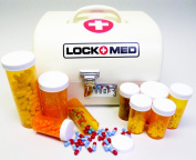 LOCKMED Vanguard Home Medication Box