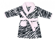 BABYTOWN Baby Girls Animal Print Micro Fleece Dressing Gown Robes Super Soft