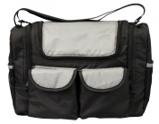 Bambisol SMFW Baby Changing Bag with Isothermal Compartment Black / Grey