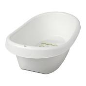 IKEA LATTSAM - Baby bath, white, green