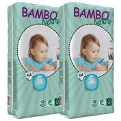 Bambo Nature Nappies (Tall) TWIN Pack - Junior