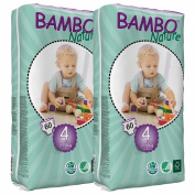 Bambo Nature Nappies (Tall) TWIN Pack - Maxi