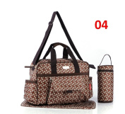 Fashion Stylish 3pcs Baby Nappy Changing Bags Set Nappy Bag Thermal Holder 6 Designs 9004