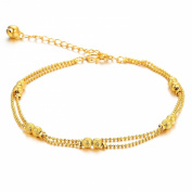 OPK Fashion Jewerly Retro Style Yellow Gold Plated in Copper Women's Anklets