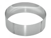 CHG 8096-05 Cake Ring / 8 cm High / Infinitely Adjustable to 30 cm Diameter