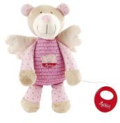 sigikid 40877 - Musical Toy Guardian Angel Bear pink
