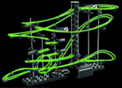 30/74/88/106/147 Pieces Marble Run Race Set Creative Building Blocks Space Rail Track 90+1 Marbles Toy Game