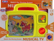 Baby Musical TV - Classic Wind Up Magical Moving Toddlers Television Toy