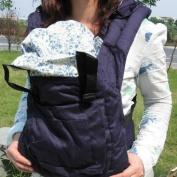 New Dark Blue Front Back Baby Safety Carrier Infant Comfort Backpack Sling Wrap Harness