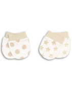 The Essential One - 2 Pair Pack Baby Scratchmittens ESS52