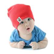 Cute Candy Colour Babies'/ Kids' Cotton Beanie/ Hat/ Cap (Model