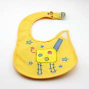 HuntGold Colourful Baby Toddler Infant Cute Bibs Waterproof Saliva Towel Feeding Boy Girl