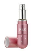 Flo Refillable Fragrance Atomiser, Pink with crystals 4.7 ml