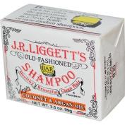J.R. Liggett's, Shampoo Bar, Virgin Coconut & Argan Oil, 100ml
